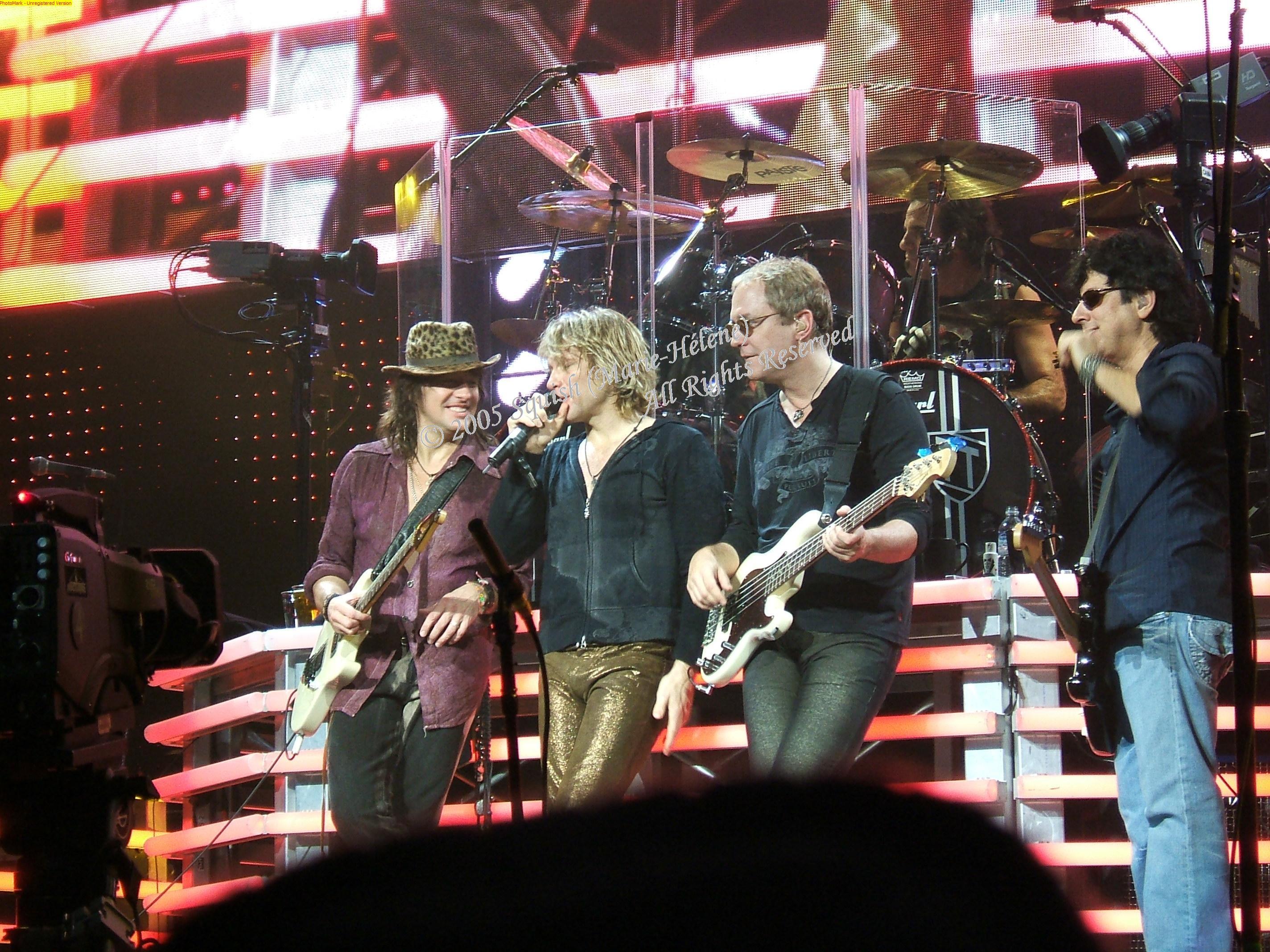 Bon Jovi - Centre Bell, Québec, Canada (15 décembre 2005)